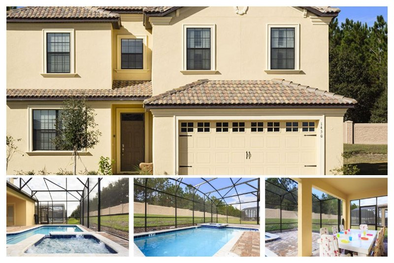Close to Disney - Sophisticated BRAND NEW 6 bedroom vacation home - Pool - Spa - Games room - Image 1 - Four Corners - rentals
