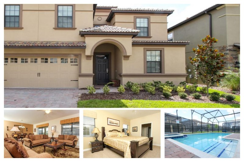 Beautifully unique luxury villa- Private pool & spa- 8 bedrooms- Games room- Stunning interiors - Image 1 - Loughman - rentals