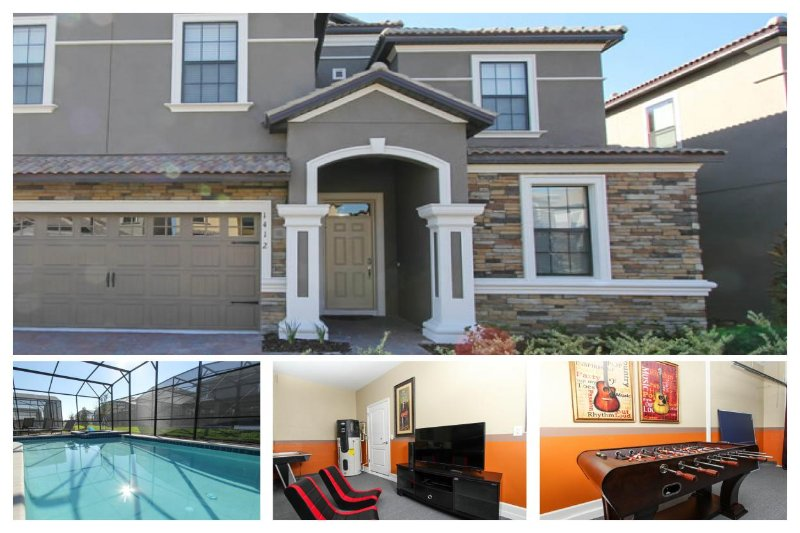 Huge Championsgate vacation rental - 9 bedrooms - Perfect for family vacation - Games room - Pool - Image 1 - Loughman - rentals