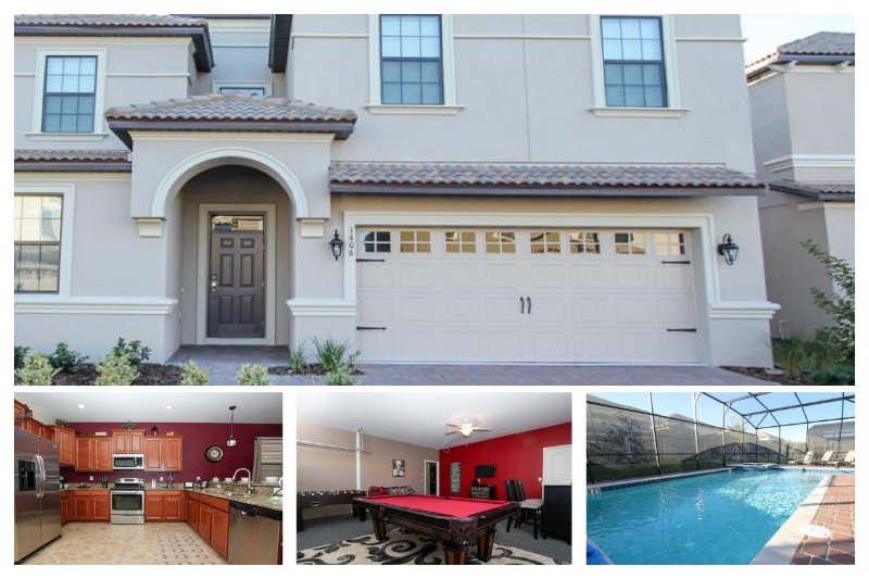 Brilliant professionally decorated 9 bedroom vacation home - Private pool - Spa - Games room - Image 1 - Loughman - rentals