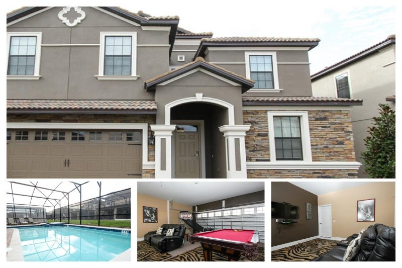 Spacious Luxury Villa - 9 huge bedrooms - Private pool - Lovely games room - Perfect family home - Image 1 - Loughman - rentals