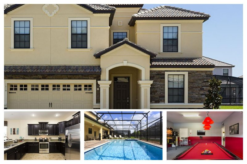 Fantastic 8 Bed Home - Games Room - Close To Disney! - Image 1 - Four Corners - rentals