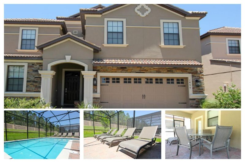 Essential 8 bedroom home with private heated pool, patio area and fully equipped kitchen. - Image 1 - Four Corners - rentals