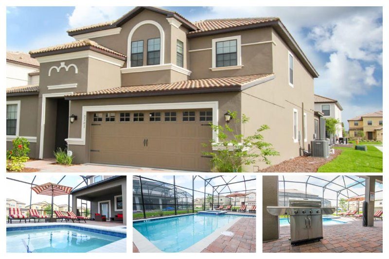 Spacious and inviting 7 bedroom home with private pool, BBQ, themed bedrooms and games room. - Image 1 - Loughman - rentals