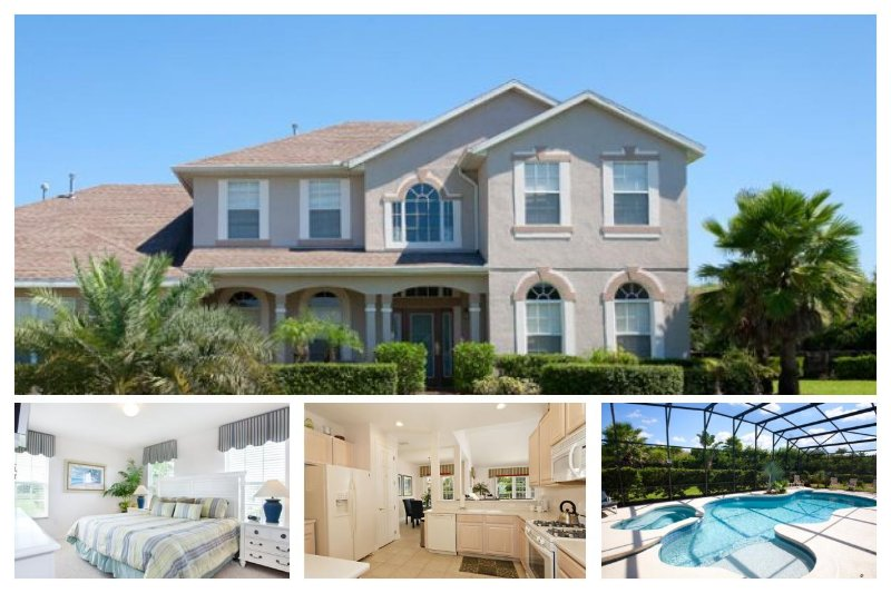 Fantastic 6 Bed Family Home - Minutes to Disney! - Image 1 - Four Corners - rentals