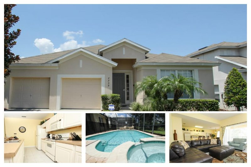 Luxury 4 Bed Home - Private Pool, 3 Miles To Disney - Image 1 - Four Corners - rentals