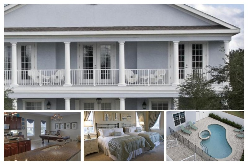 4 fantastic bedrooms 3.5 bathrooms privae pool and spa, games room - Image 1 - Reunion - rentals