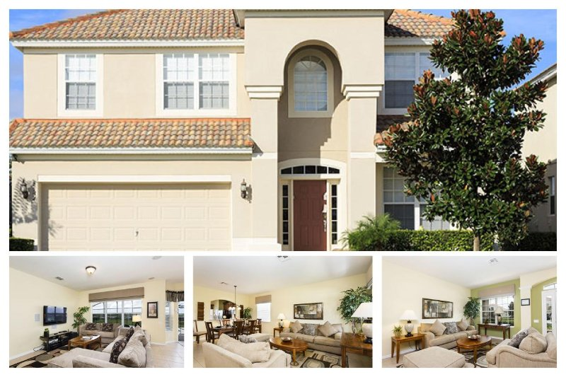 Stunning 6 Bed Home with Private Pool - Games Room - Image 1 - Reunion - rentals