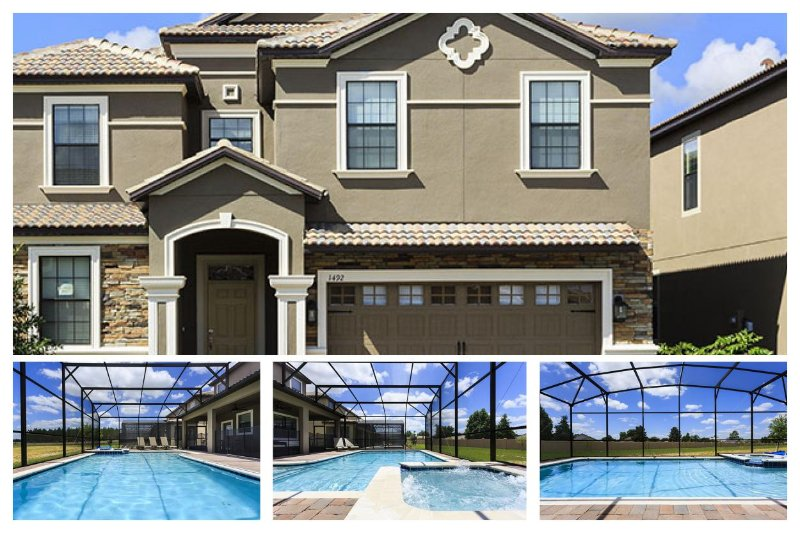 BRAND NEW luxury Championsgate villa with its great location- Home cinema- Private pool- Spa - Image 1 - Four Corners - rentals