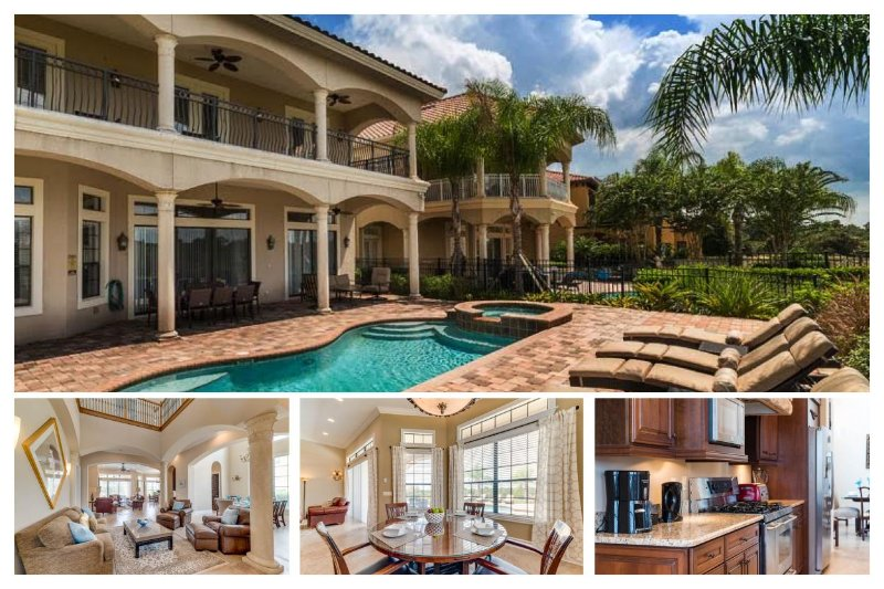 Custom 5 bed - Private pool and Spa - Golf Views - Games room - Image 1 - Reunion - rentals