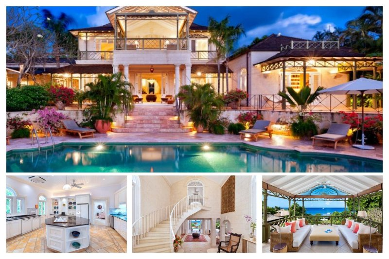 Beautiful 6 bedroom home on the platinum West Coast of Barbados, with private pool. Ideal for family getaways. - Image 1 - The Garden - rentals