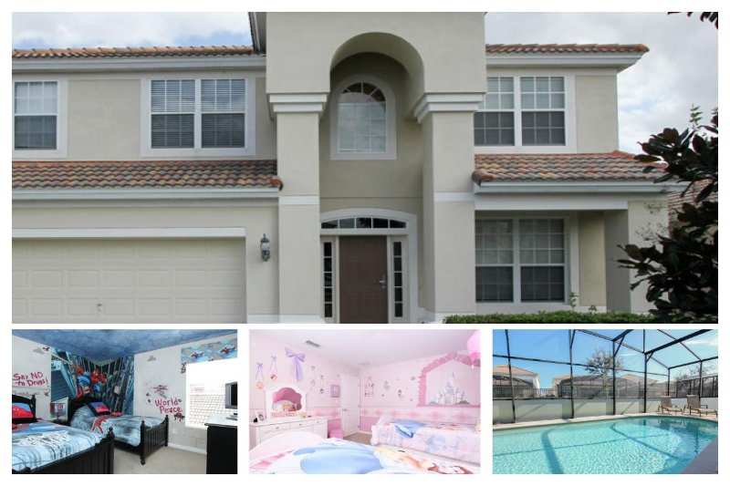 6 bedroom, 4 bathroom, Windsor Hills Resort home with games room and private pool. - Image 1 - Four Corners - rentals
