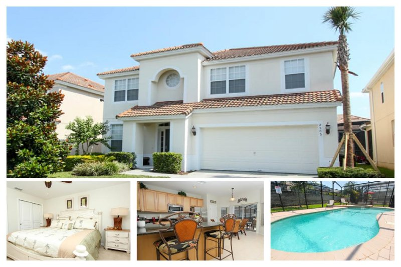 Spectaular 6 bedroom home with lovely interior, games room and private pool in Windsor Hills - Image 1 - Reunion - rentals