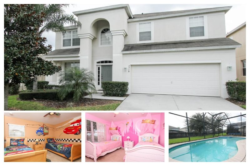 Perfect 6 bedroom family home featuring themed bedrooms, games room and pool with spa - Image 1 - Four Corners - rentals