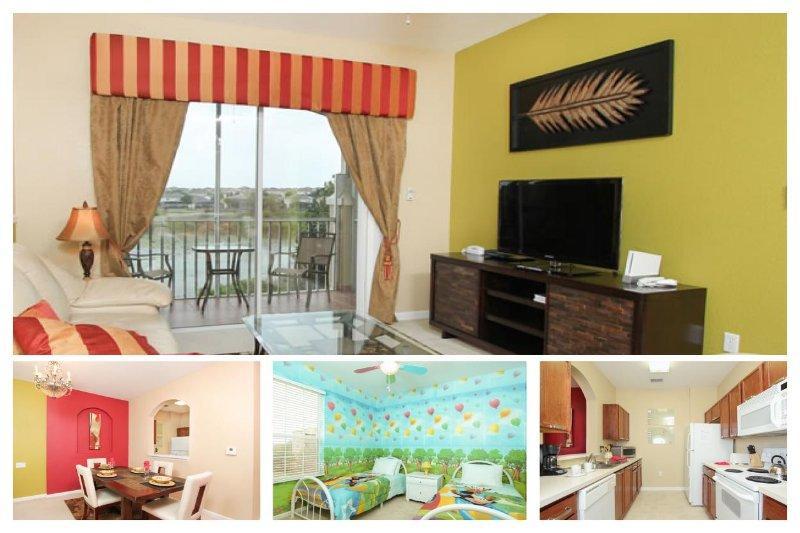 Luxury Family Condo with Disney Themed Bedroom - Image 1 - Four Corners - rentals