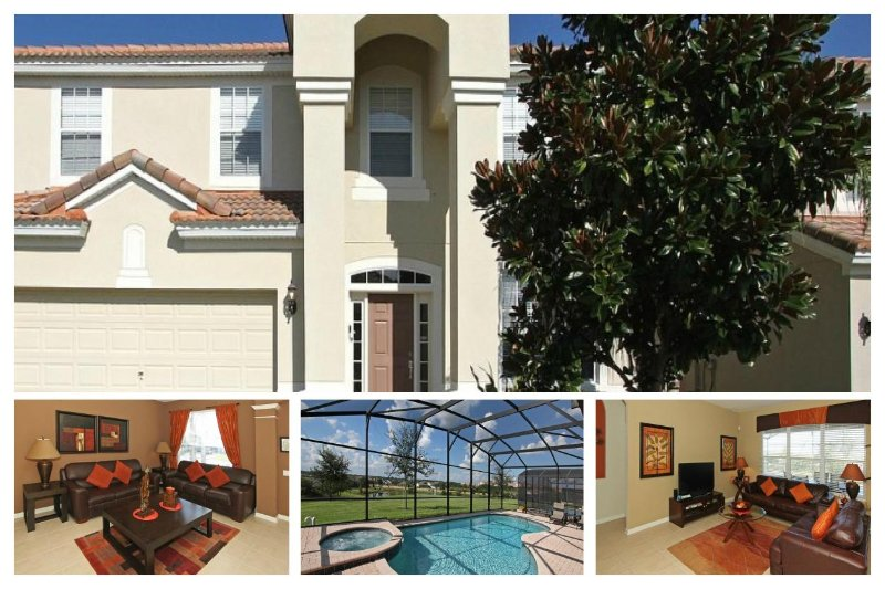 Lake fronted, Private Pool and Spa, Fantastic Designated Games Room. - Image 1 - Reunion - rentals
