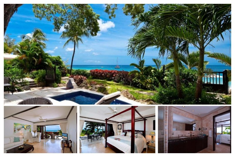 Charming 2 Bedroom Beachfront Apartment - Image 1 - Paynes Bay - rentals