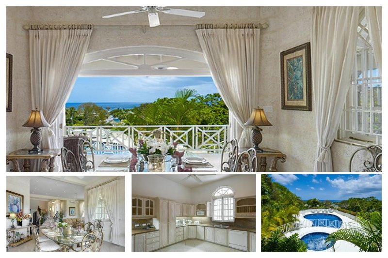 Beautiful 6 bedroom home, situated on a lovely ridge within the renowned Sandy Lane estate with breathtaking views. - Image 1 - Holetown - rentals
