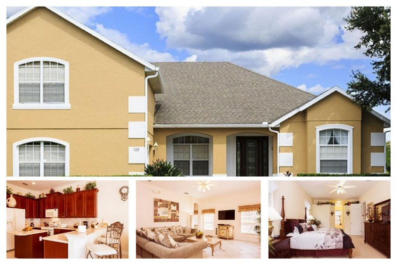 Luxury 5 Bed Home with Private Pool, Spa and Lanai - Image 1 - Reunion - rentals