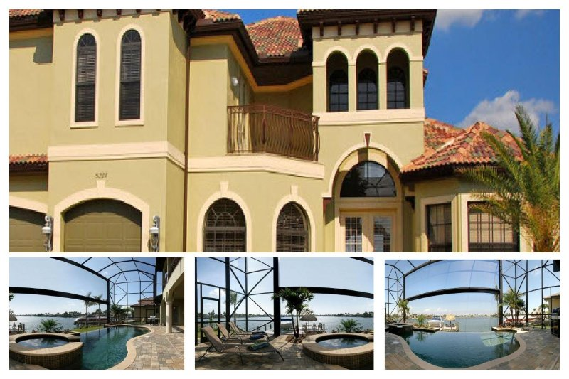 Spacious 5 bedroom vacation home- Pool- Located on lake- Boat access- Fishing opportunities - Image 1 - Cape Coral - rentals