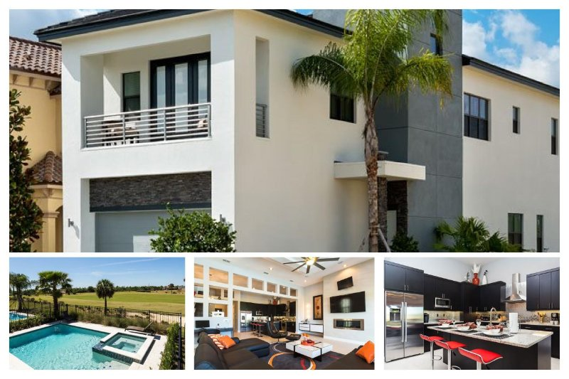 Modern Family Home with Private Pool, Golf Views - Image 1 - North Fort Myers - rentals