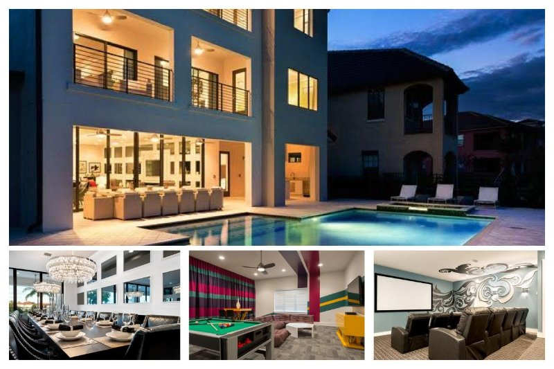 Luxury Family Home with Private Pool, Home Theatre - Image 1 - Reunion - rentals