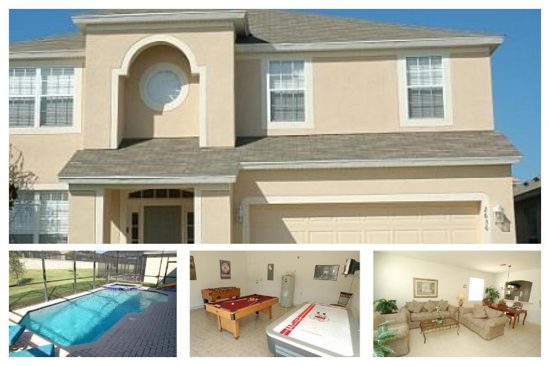 Luxury 6 Bed Family Home - 2 Miles to Disney - Image 1 - Four Corners - rentals