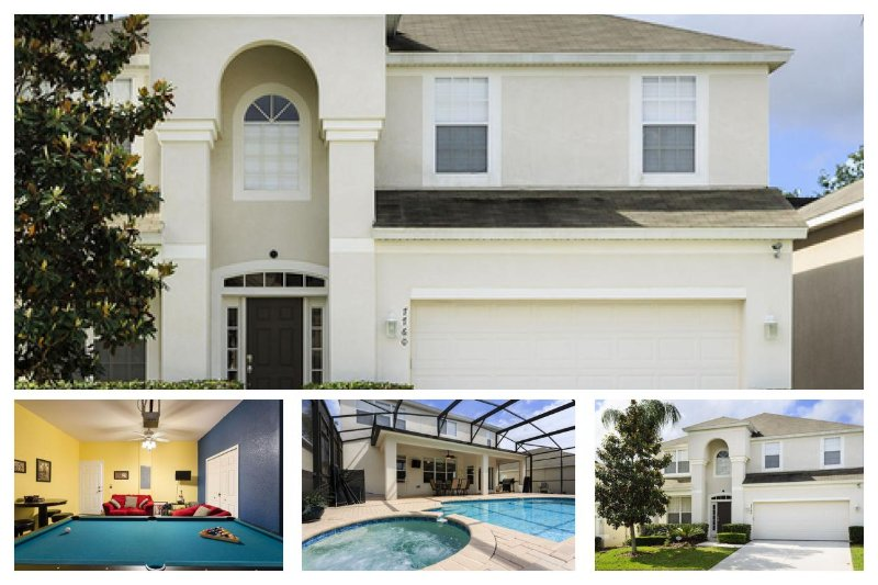 Stunning 6 Bed Home with Private Pool, Games Room - Image 1 - Four Corners - rentals