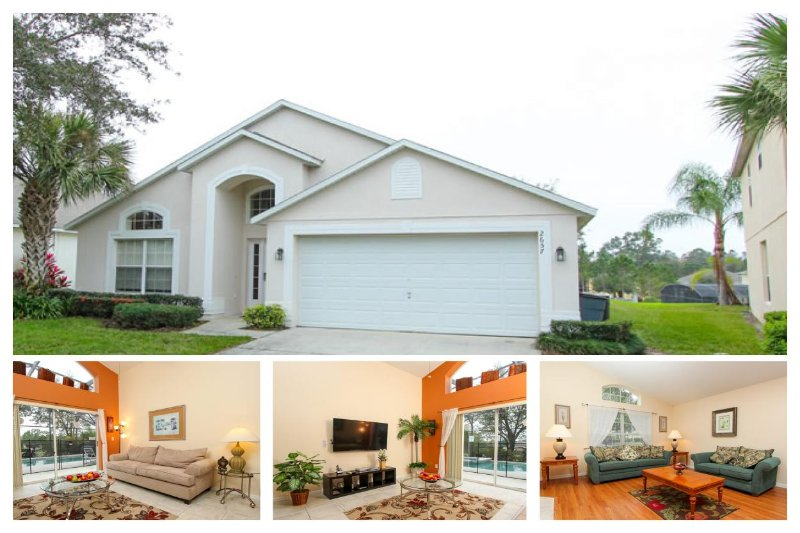 Luxury 4 Bed Home with Private Pool - near Disney! - Image 1 - Reunion - rentals