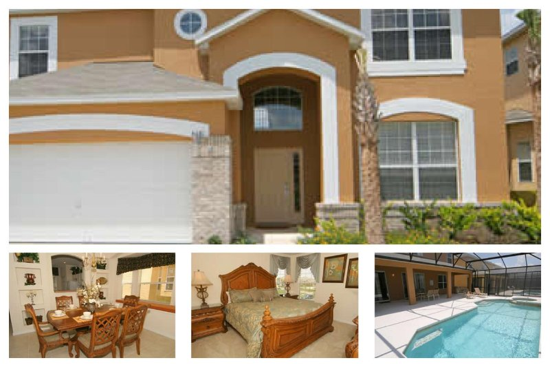 Luxury 5 Bed Home with Pool - 4 Miles to Disney - Image 1 - Four Corners - rentals