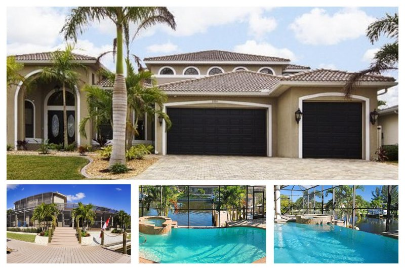 Breath-taking 4 bedroom south exposure villa- Next to canal- Electric pool & Spa- Family get away - Image 1 - Matlacha - rentals