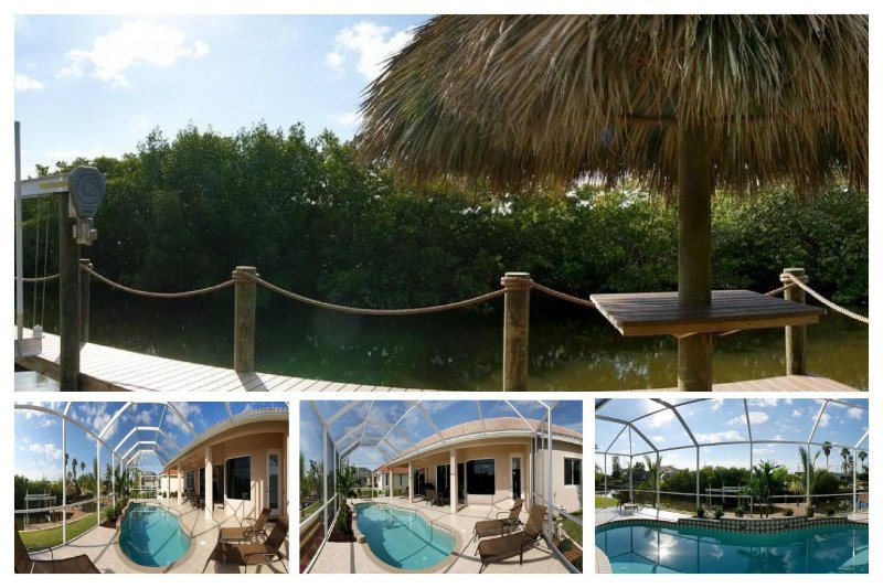 Fantastic 4 Bedroom Villa with Private Pool - Image 1 - Cape Coral - rentals