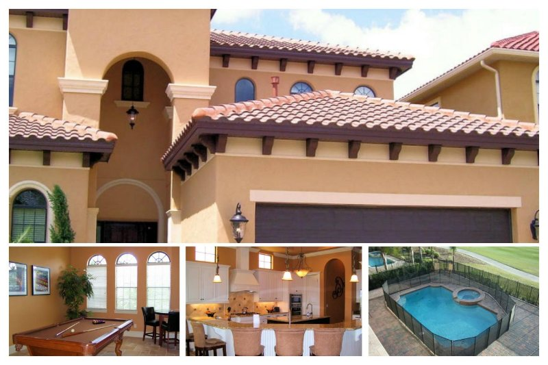 Stunning 6 bedroom, 6.5 bathroom home in Reunion Resort. Golf course views, pool, spa and summer kitchen - Image 1 - Reunion - rentals