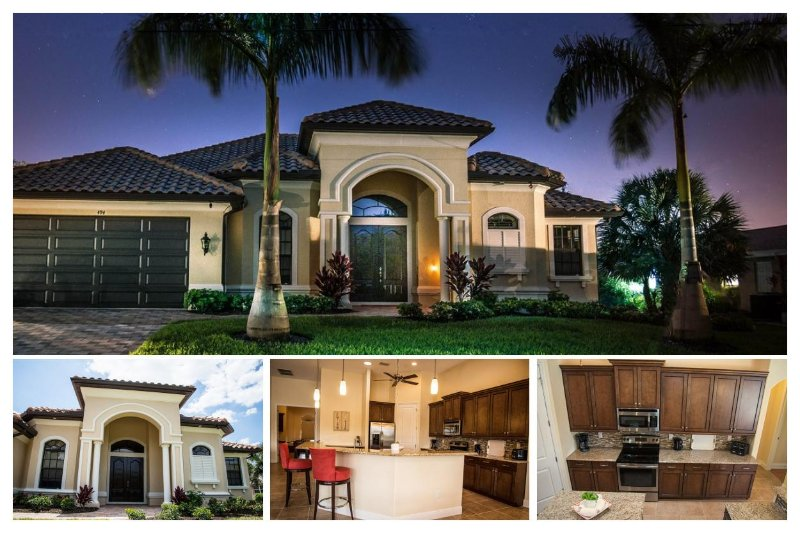 Luxury 3 Bed Villa with Private Pool - Image 1 - Cape Coral - rentals