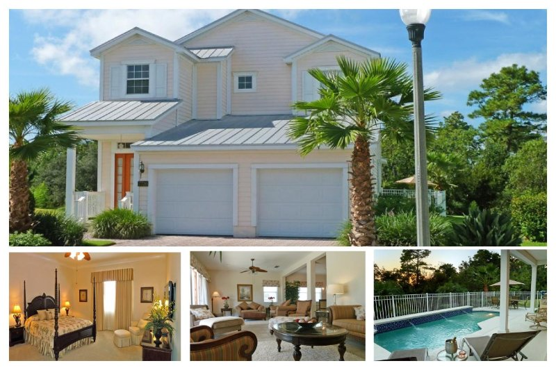 Beautiful 4 Bedroom, 4 Bathroom Reunion Resort villa with private pool and summer kitchen - Image 1 - Loughman - rentals