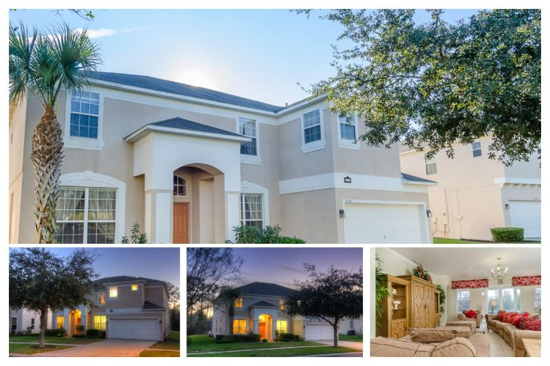 Luxury 7 Bed Home with Private Pool, near Disney! - Image 1 - Four Corners - rentals