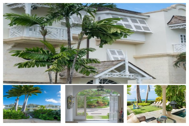 Stunning 3 Bed Townhouse with Private Pool - Image 1 - Paynes Bay - rentals