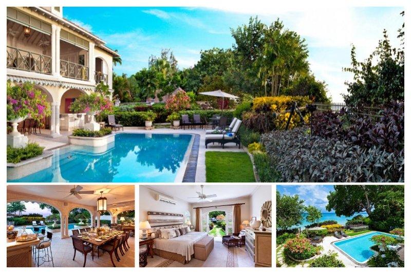 Luxury 4 Bed Beachfront Villa - WiFi - Image 1 - Gibbs Bay - rentals