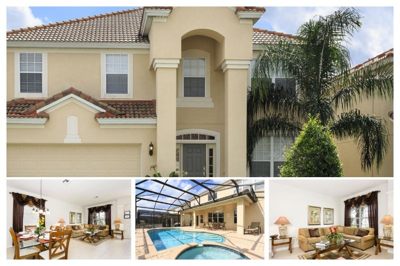 Stunning 6 Bed Villa - Private Pool - Games Room - Image 1 - Four Corners - rentals