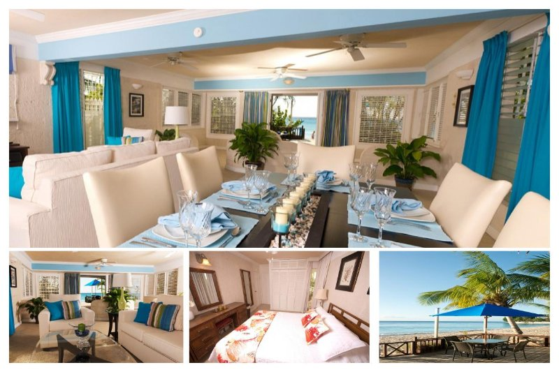 Stunning 2 Bedroom Beachfront Apartment - Image 1 - Paynes Bay - rentals