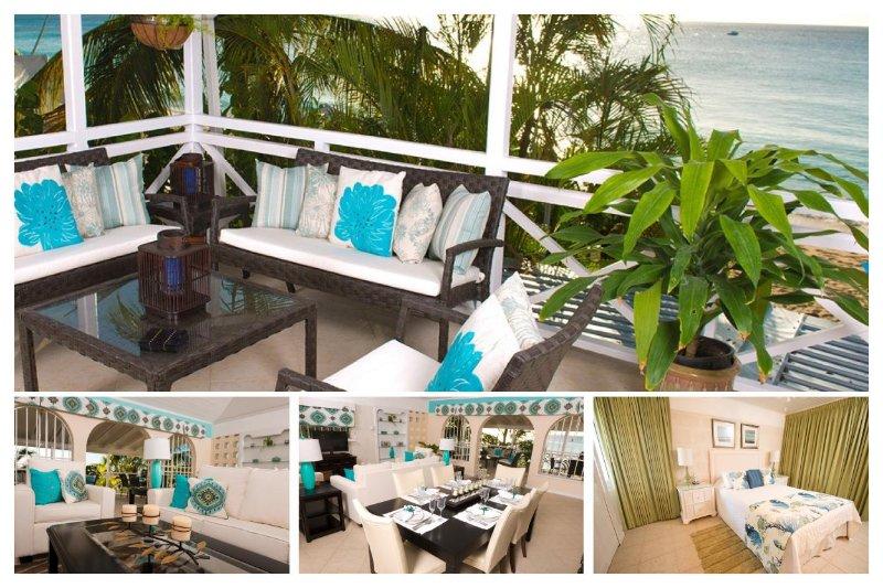 Luxury 2 Bedroom Beachfront Apartment - Image 1 - Paynes Bay - rentals