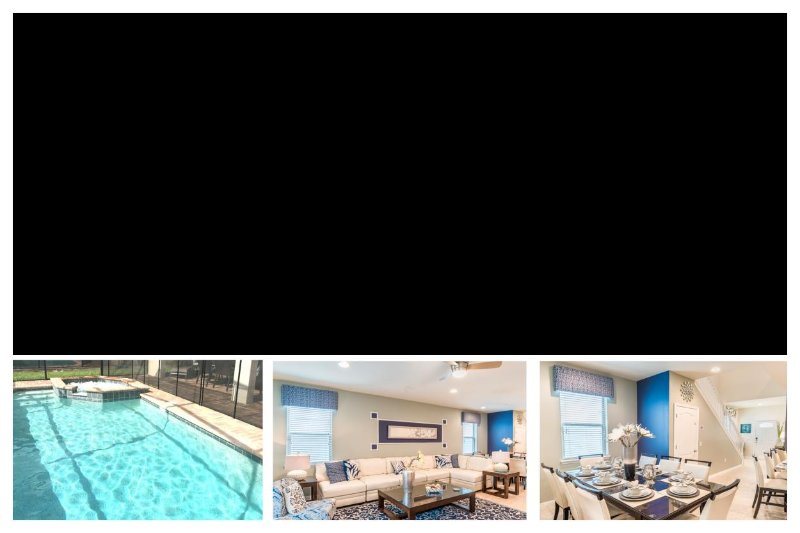 Stunning 7 Bed Home with Private Pool, Games Room - Image 1 - United States - rentals