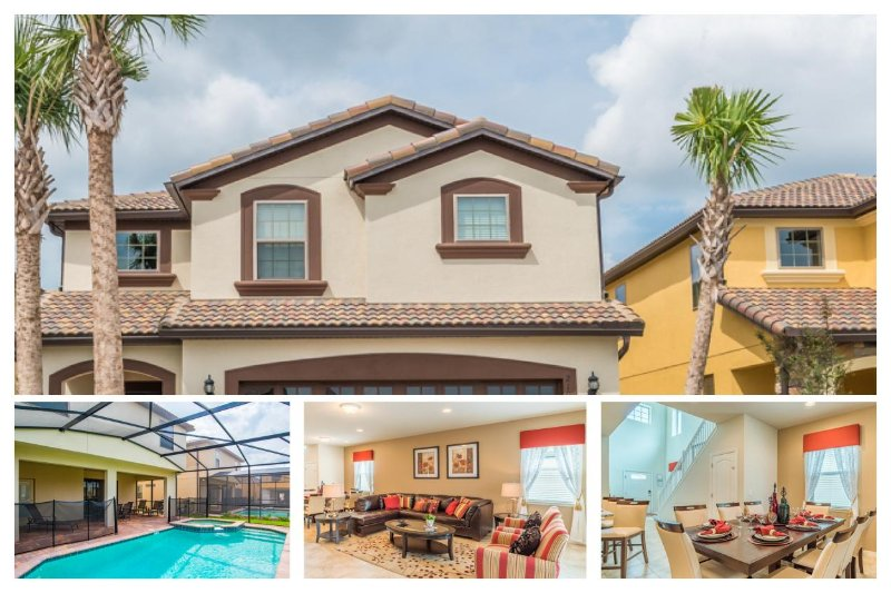 Luxury 6 Bedroom Home with Private Swimming Pool - Image 1 - United States - rentals