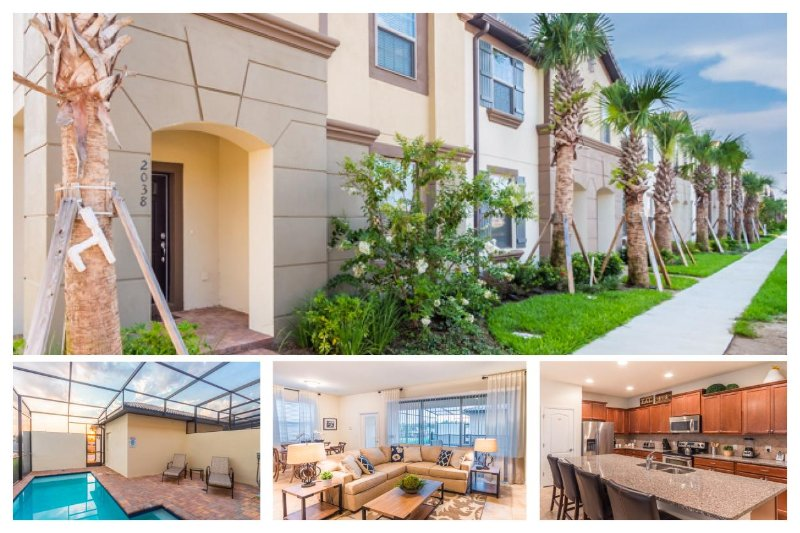 Luxury 5 Bed Townhouse with Pool, Near Disney - Image 1 - United States - rentals