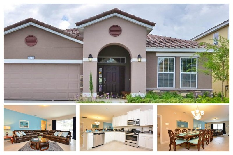 Luxury 5 Bed Family Home - Private Pool, Games Room - Image 1 - Loughman - rentals
