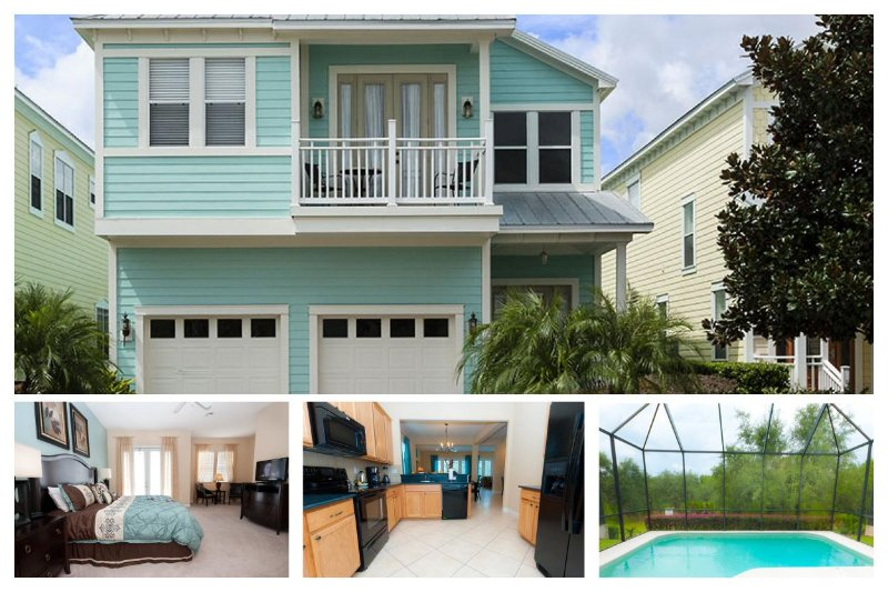 Key West style home - 5 bed - Covered Pool - Pool fence - Games room - Image 1 - Loughman - rentals