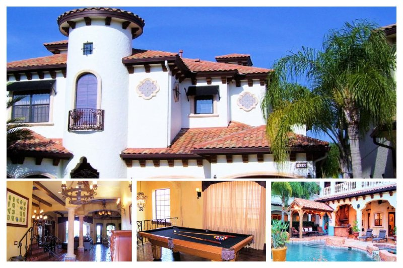 Beautiful and unique 5 bedroom home in Reunion Resort with Pool, Spa and games room - Image 1 - Reunion - rentals