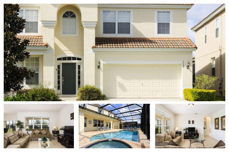Stunning 6 Bed Villa - Private Pool - near Disney! - Image 1 - Four Corners - rentals