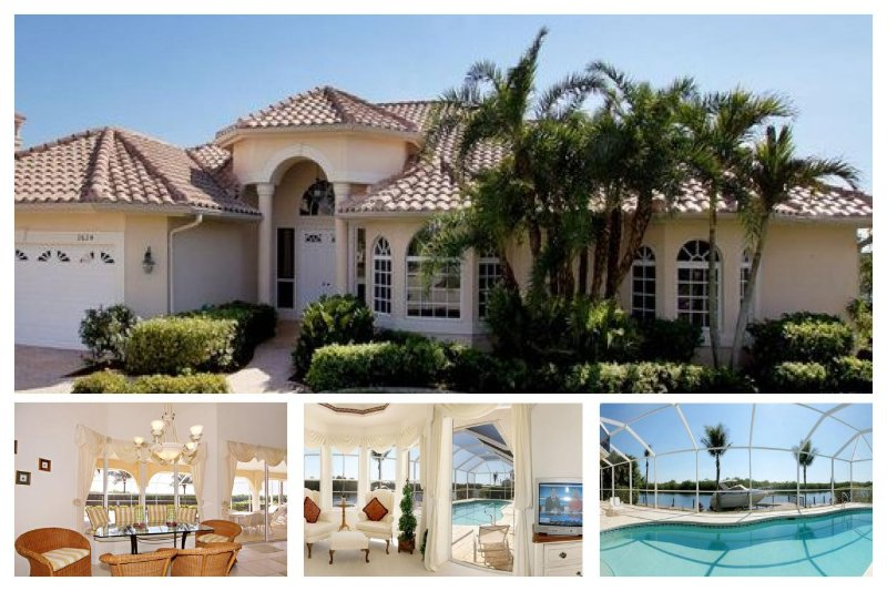 Sophisticated luxury Cape Coral villa- Private boat dock- Private pool- Pet friendly- 5 bedrooms - Image 1 - Saint James City - rentals