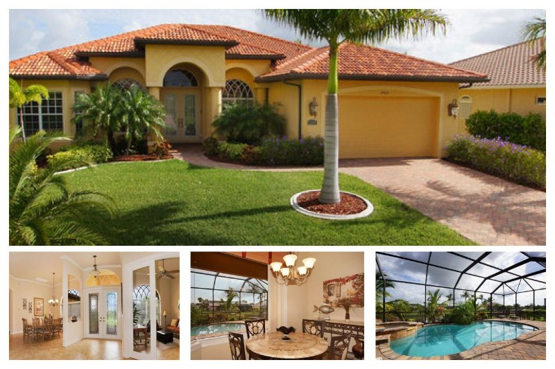 Perfectly peaceful 3 bedroom luxury villa- Stunning swimming pool- Outside BBQ- Pet friendly - Image 1 - Matlacha - rentals